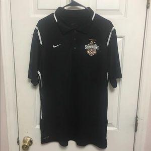 Men's San Antonio Scorpions FC polo Shirt Sz L